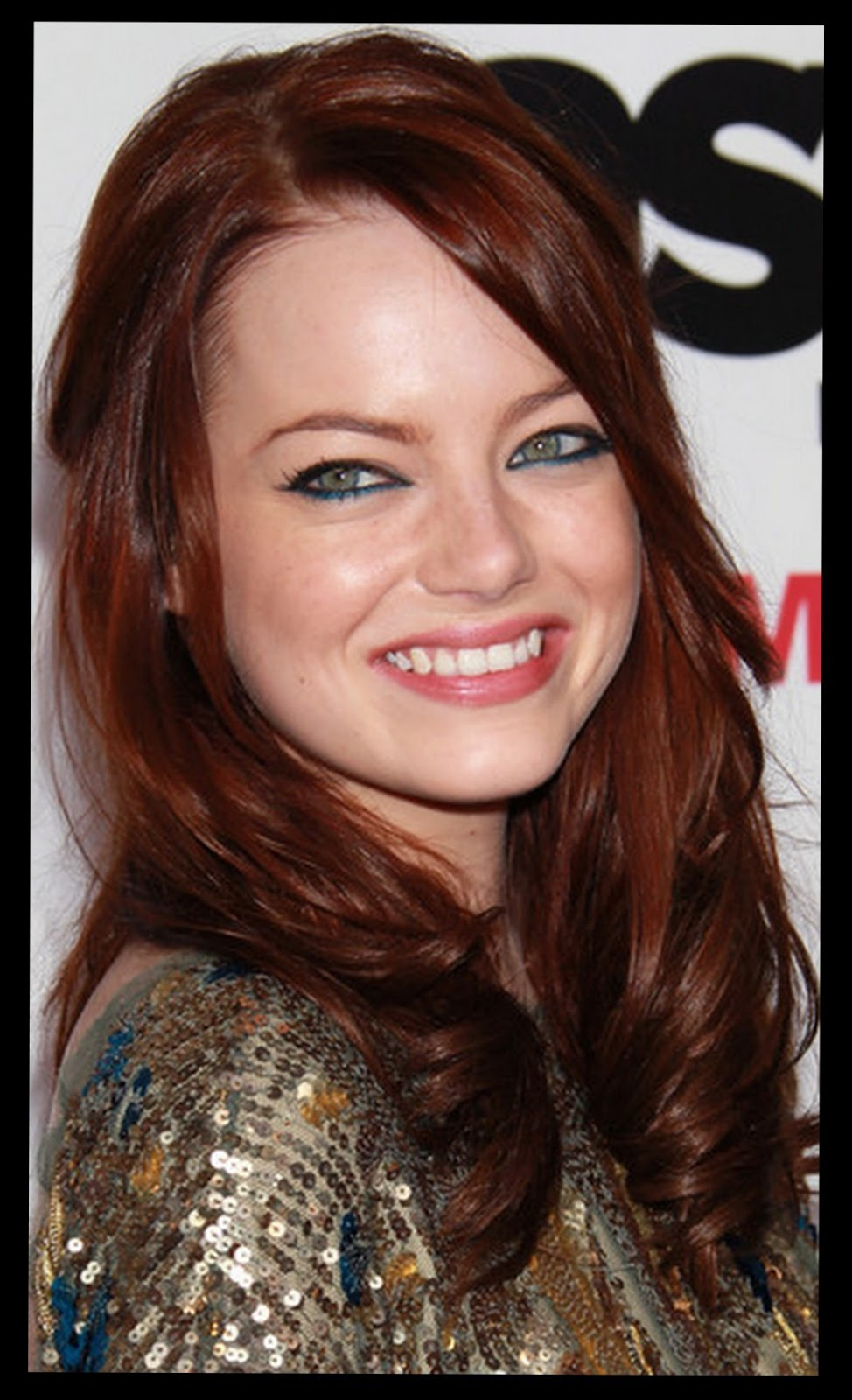 Emma Stone: Emma Stone Red Hair | 974 x 1600 jpeg 188kB