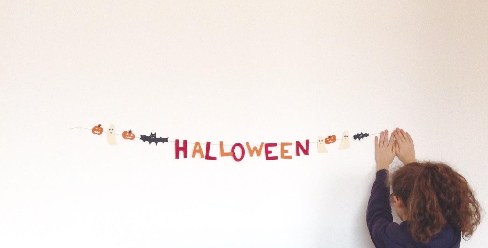 Bricolaure diy halloween la guirlande d 39 halloween - Guirlande d halloween ...
