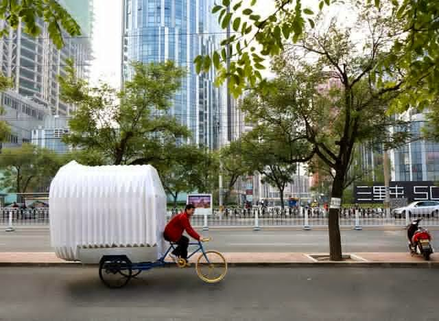 The Mobile Bike House
