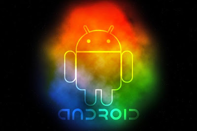 Colored Android Background