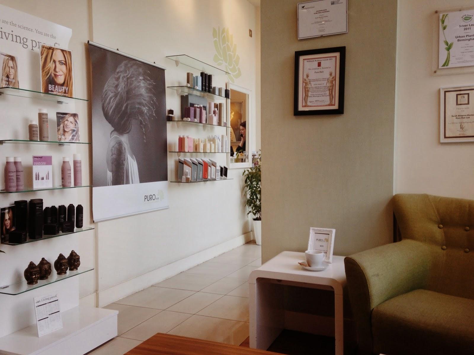 Puro organic hair salon curiously conscious for 6 salon birmingham