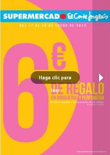 oferta supermercado el corte ingles 17-1 2013