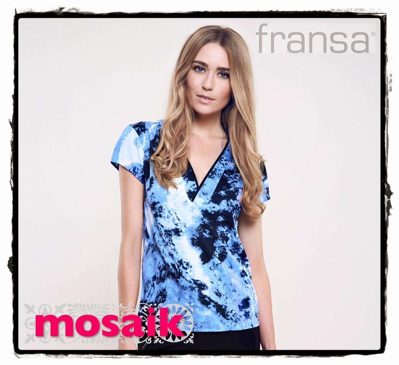 topp i blått från Fransa på Mosaik i Luleå