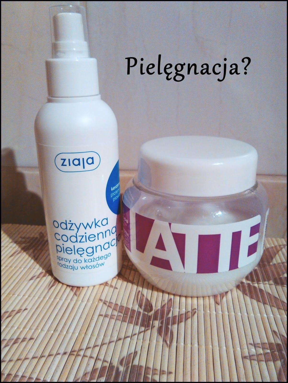 Ziaja odżywka w sprayu i Kallos Latte/recenzja
