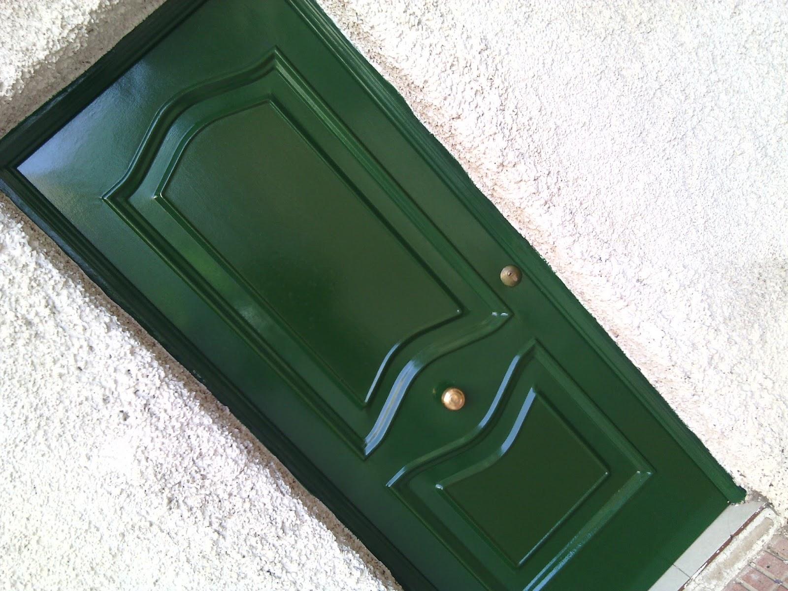 Pintura y decoraci n madrid for Como lacar una puerta barnizada