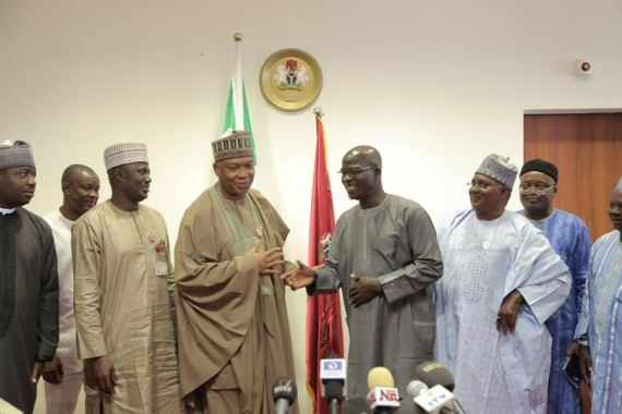 Bukola Saraki and Nigerian Union of Journalists.