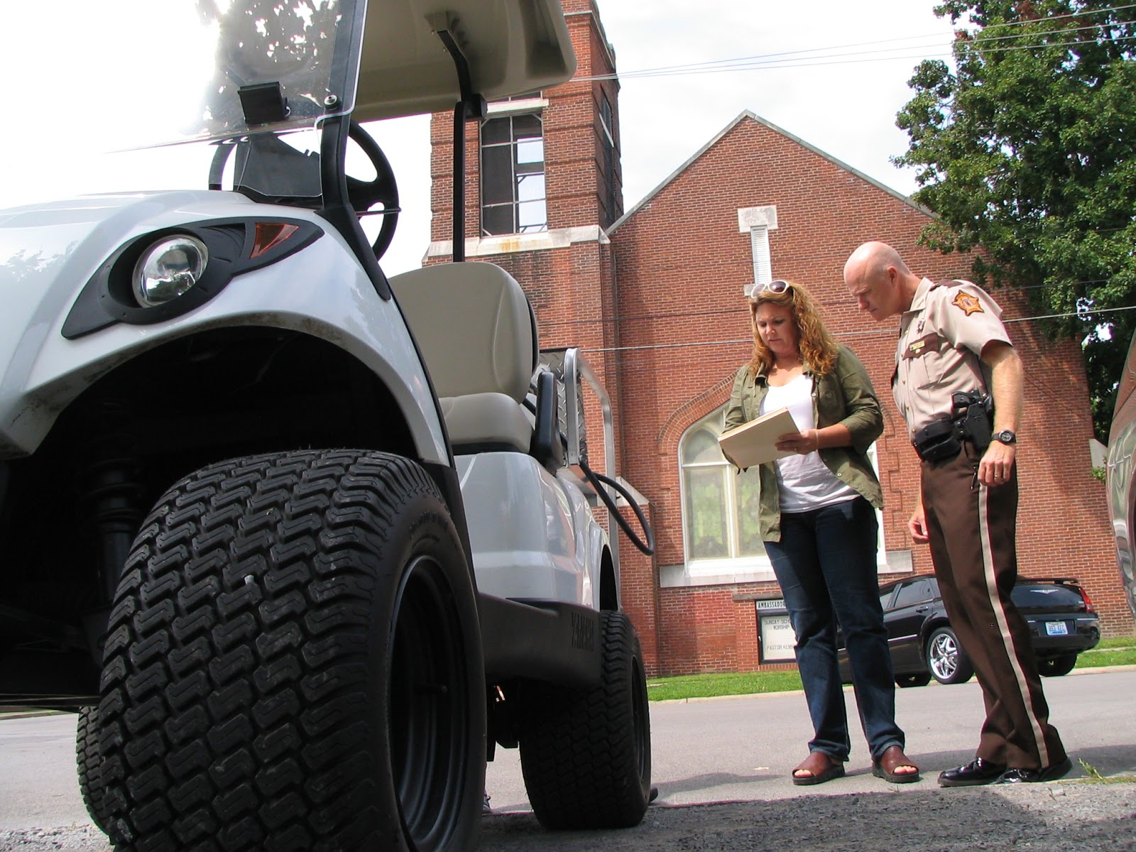 The press online first golf cart certified to operate on for Wayne motor vehicle inspection hours