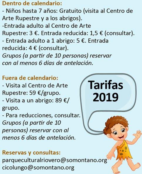 TARIFAS 2019