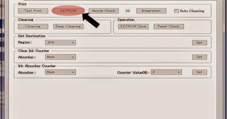Download Service Tool V3400 (Resetter Printer Canon