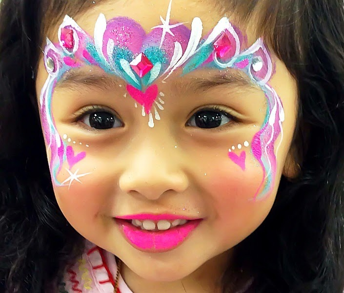 Art Craft Gift Ideas Cute Face Painting For Girls