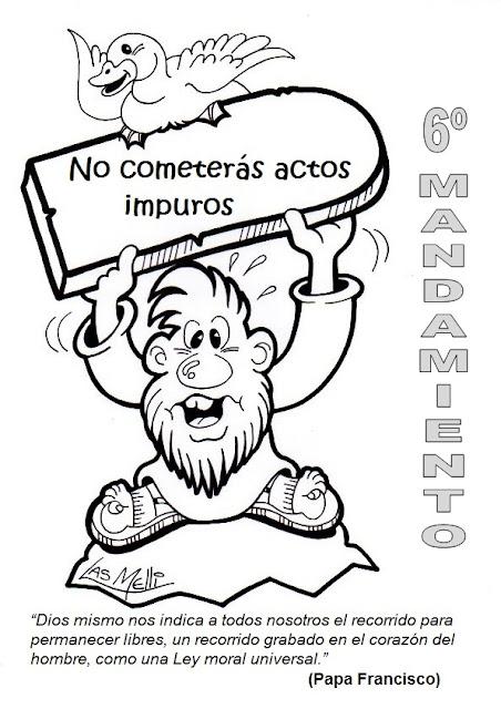 Blog Católico de Javier Olivares-Baiona: Los 10 Mandamientos