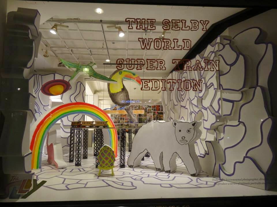 Selfridges Shopwindow January