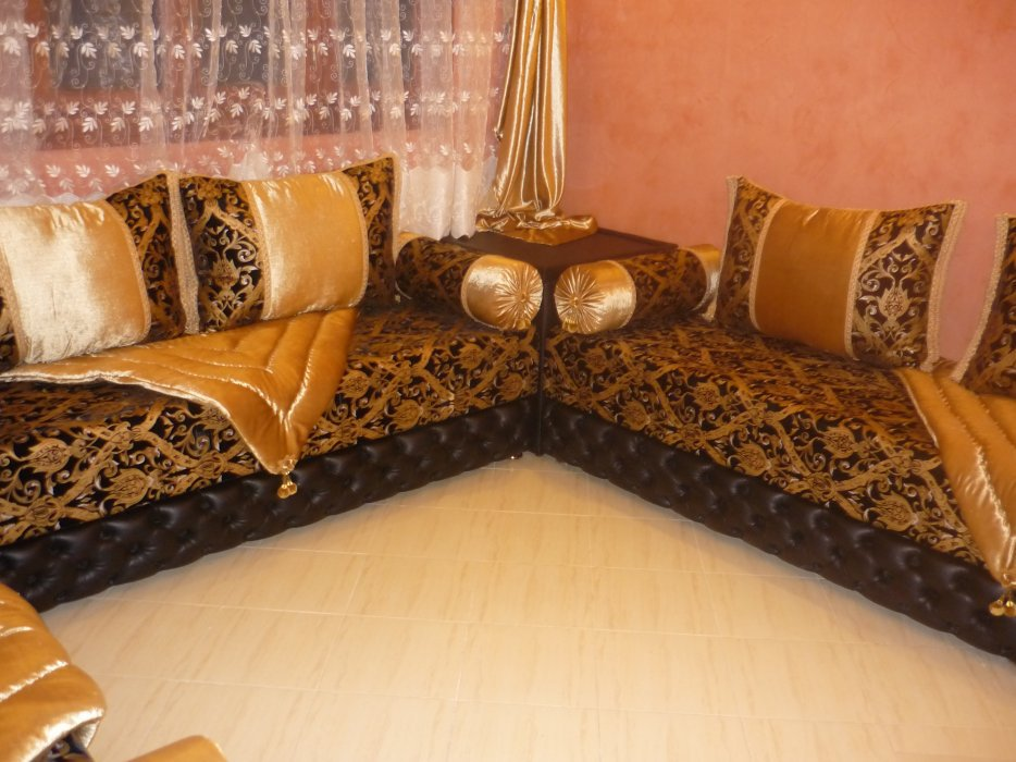 salon marocain Tapissier S19 Moderne 2012 (2) - Décoration Salon ...