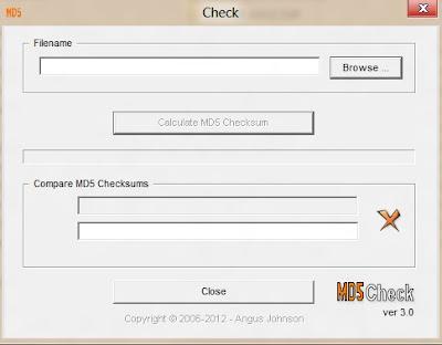Md5Check Versi 3.0
