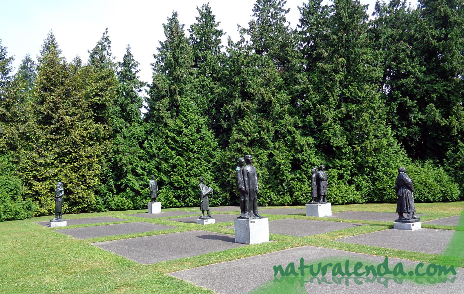 estatuas de la segunda guerra mundial
