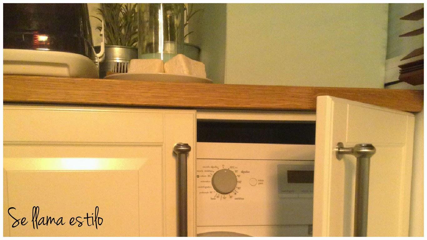 Se llama estilo mi casa mini lavadero - Mueble lavadora exterior ...