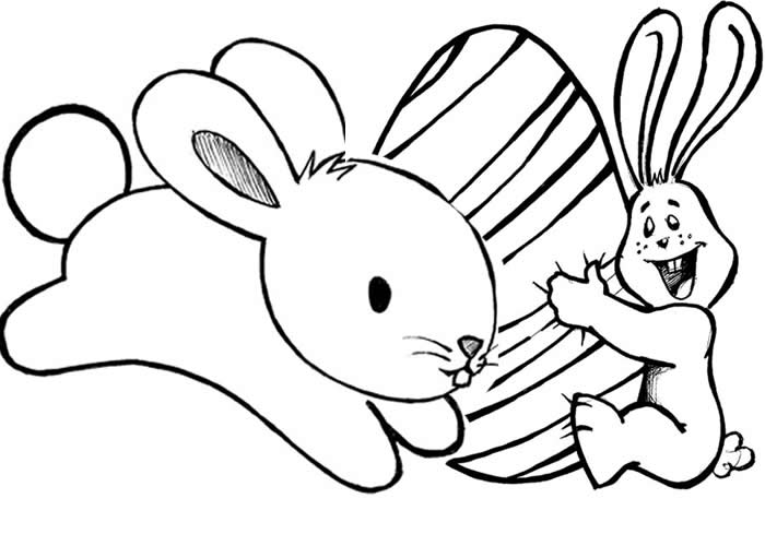 Desenhos De Coelho Da Páscoa Para Imprimir E Colorir Coisas Pra Ver