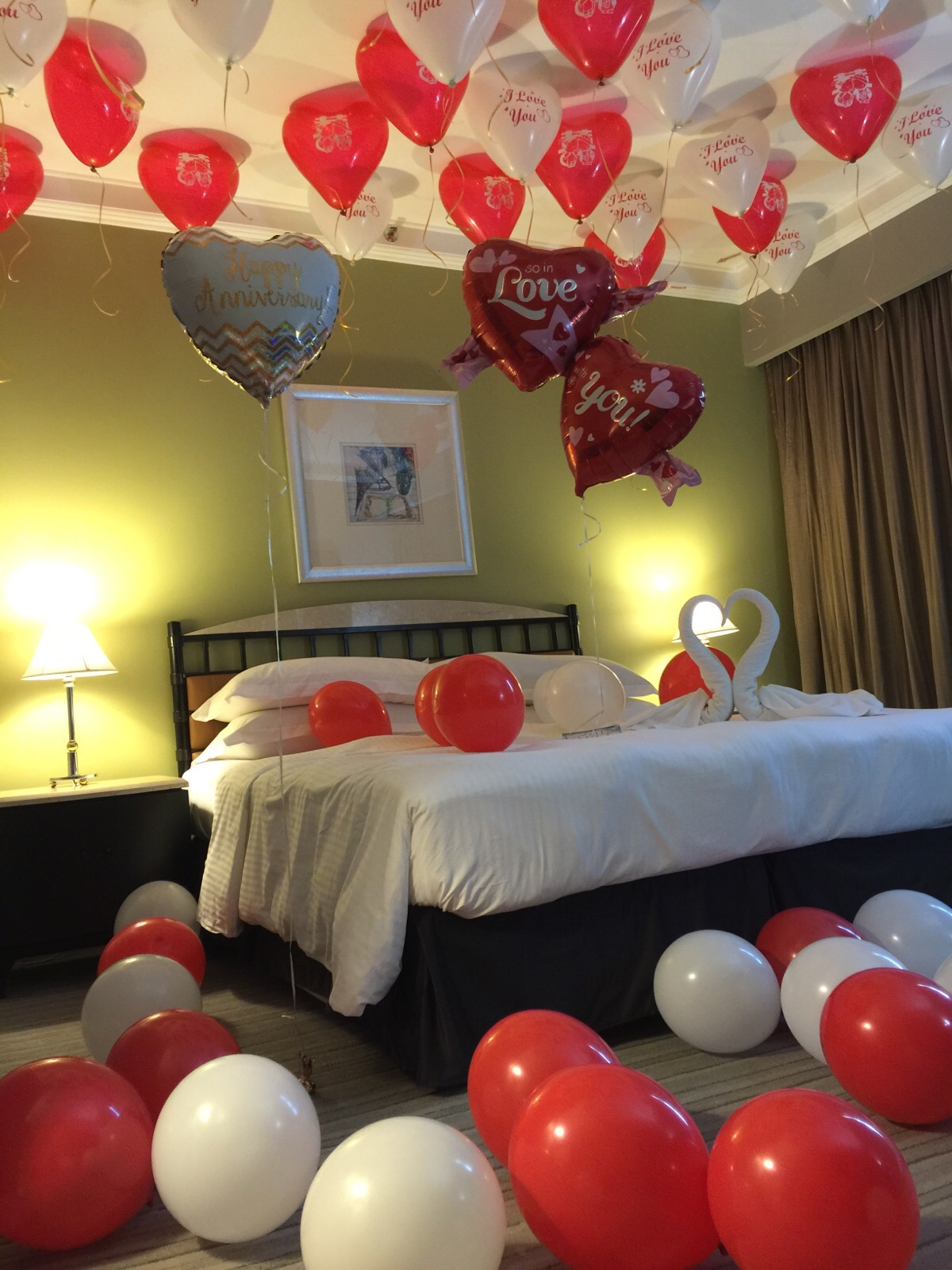 32 Beauty Room Decoration With Balloons For