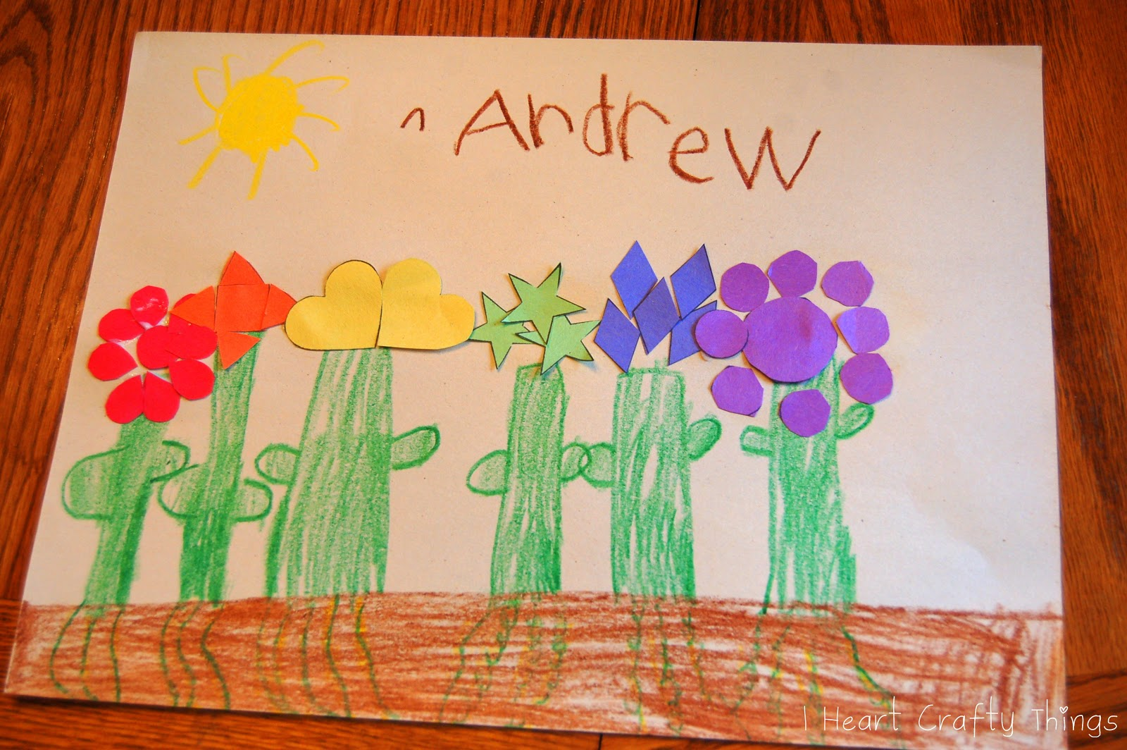 Planting a Rainbow | I Heart Crafty Things