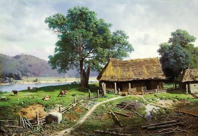 La Vida Campesina del Siglo XIX en los Paisajes