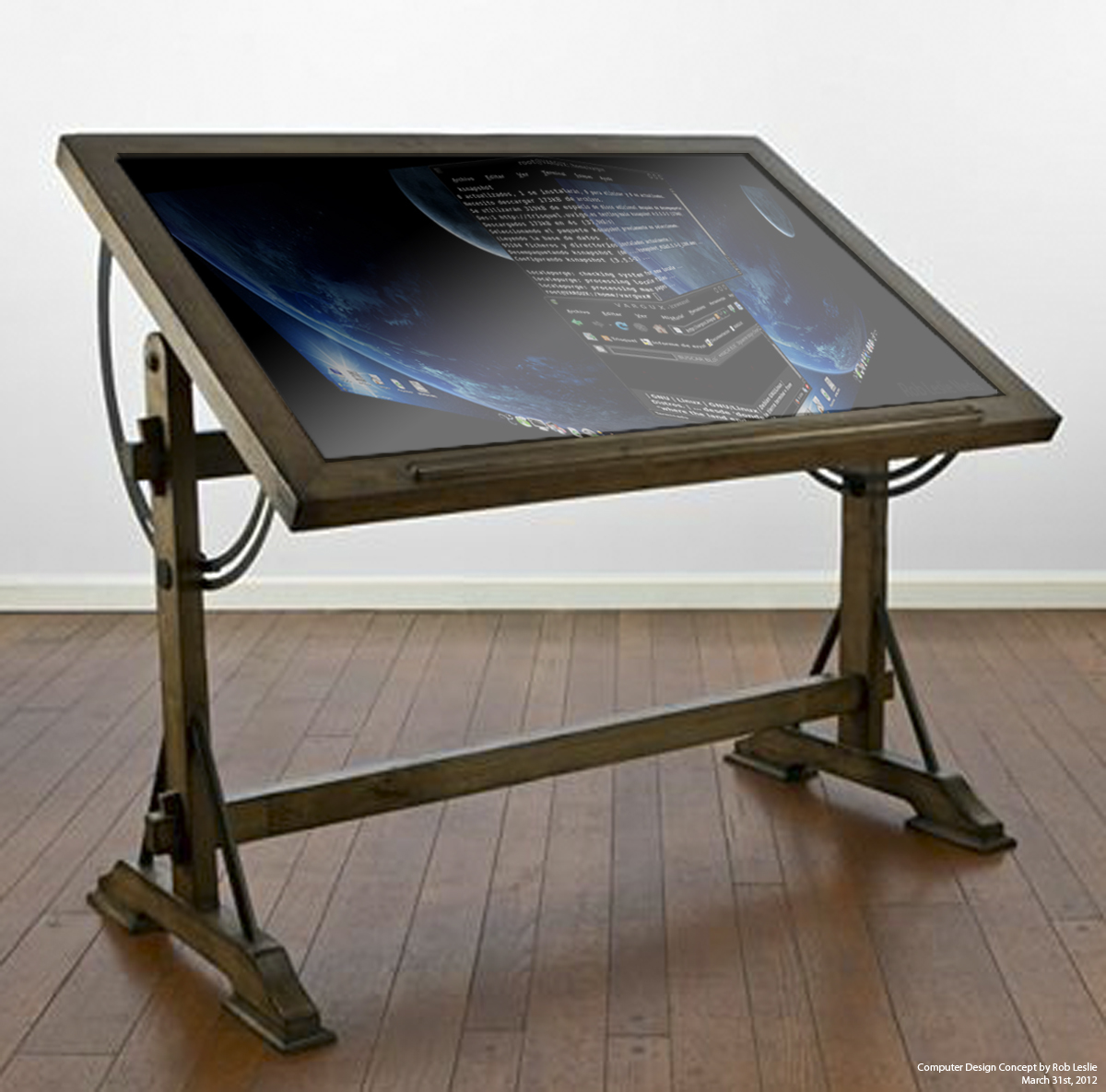 Drafting Table Computer
