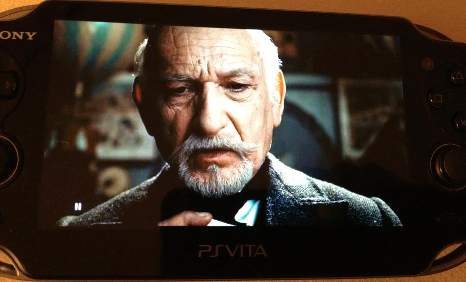 La Calidad De Imagen De La OLED De PS Vita Con Un DivX