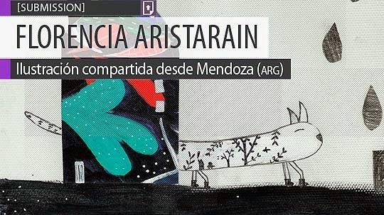 Ilustración. Escalera de FLORENCIA ARISTARAIN