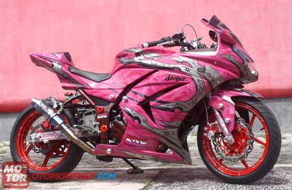 modifikasi Ninja 250R ekstrem