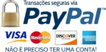 Transações seguras via Paypal
