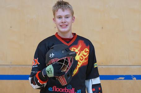 Max, unser neuer Goalie