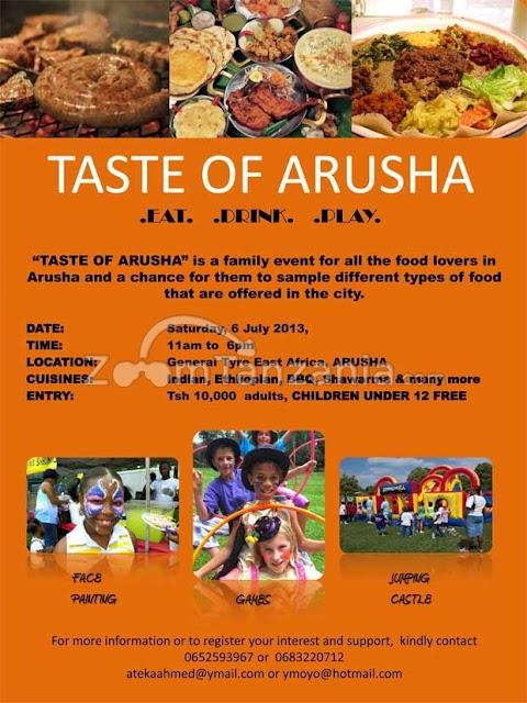 Taste of Arusha