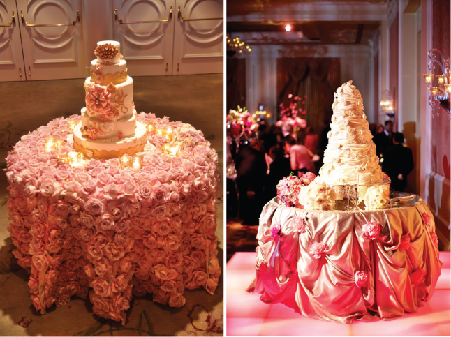 Wedding Cake Table Decor Florar Table