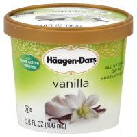 Haagen-Dazs ice cream cup