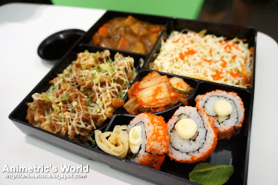 Ume Bento Box at Moshi Moshi in Katipunan