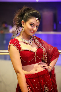 Actress Nikitha Narayan Latest  Pictures in Designer Dress at Fashionology Fashion Show 2013 0039.jpg