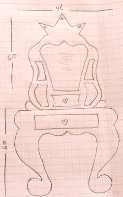 Las creaciones de do a castora muebles de cart n tocador - Hacer tocador para nina ...
