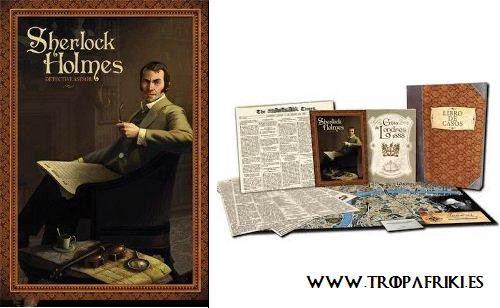 Juego de mesa Sherlock Holmes: Detective Asesor 44,95€