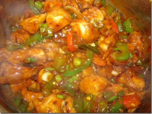 Stir Fry Chinese vegetables with Chicken (BY Rida Aftab)