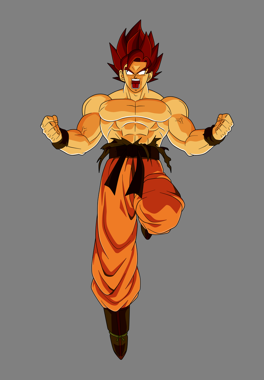 Dragon ball universe son goku kakarotto - Goku 5 super saiyan ...
