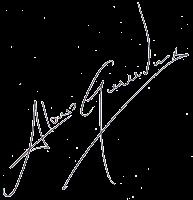 Firma manuscrita de Alonso Gauidonlux