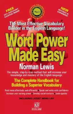 Word Power Made Easy by Norman Lewis @ Rs 110 only