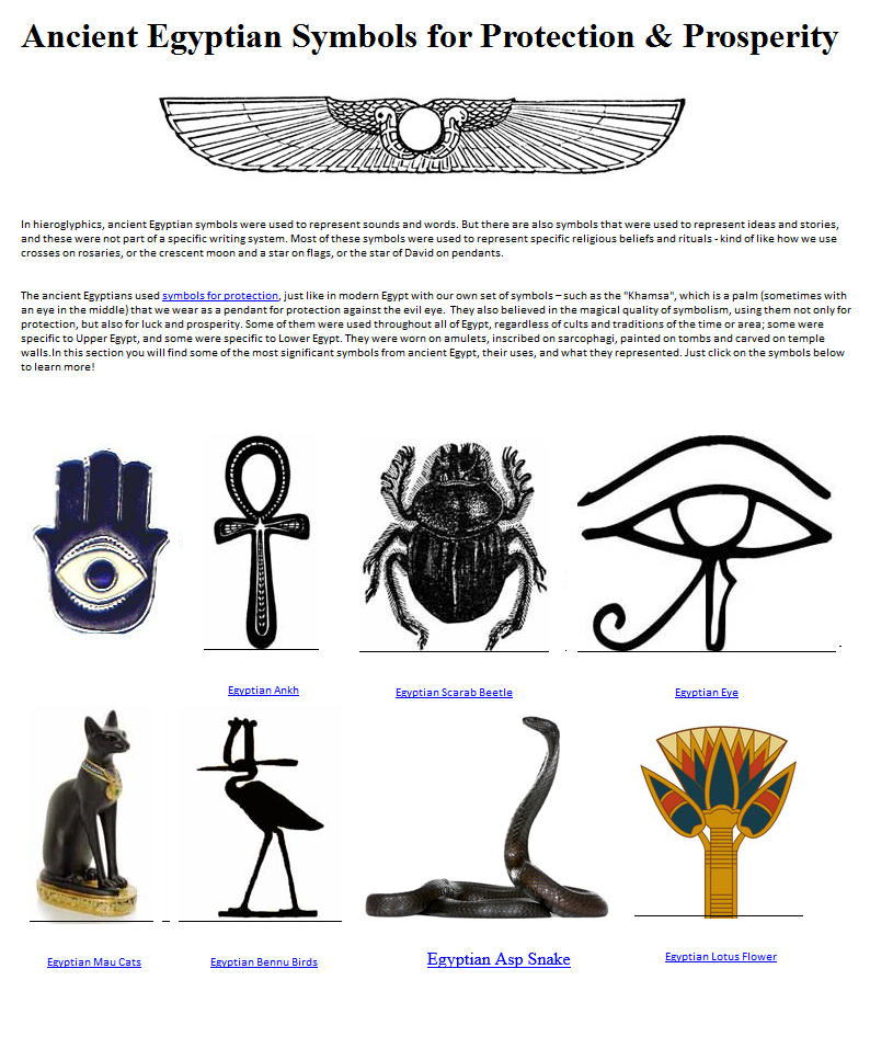 The All Seeing Eye Religious And Historic Symbols Ancient Egyptian
