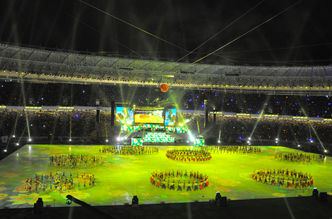 Olympic Stadium - opening ceremony, Kiev(Ukraine)|Euro 2012- Travel Europe Guide