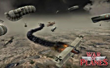 game pesawat tempur sky baron: War Of Planes MOD