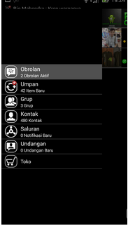 BBM Mod Dark Black Simple Themes