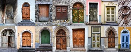 Drzwi - tu symbol różnych polskich towarzystw psychoterapeutycznych