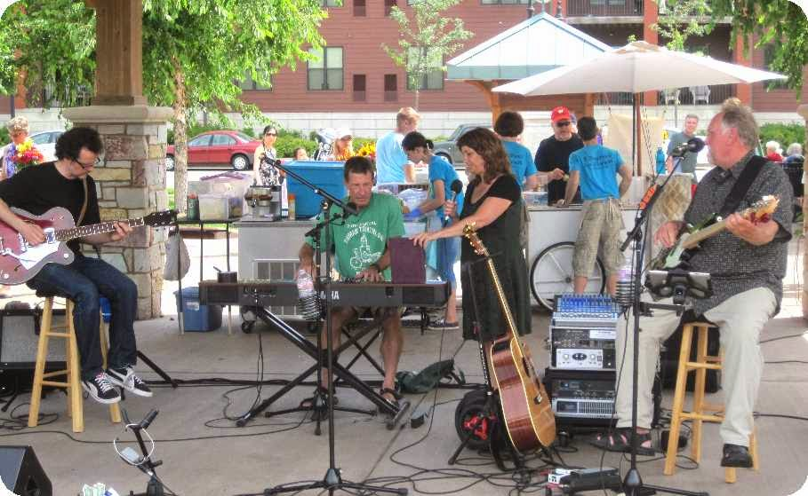 2014-07-26 at Eau Claire Farmer's Market