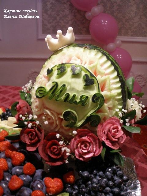 детский день рождения карвинг