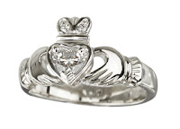 The Claddagh wedding ring