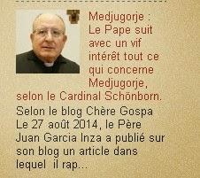 Medjugorje actualités: Le Pape suit avec un vif intérêt tout ce qui concerne Medjugorje